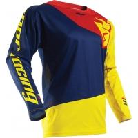 Camisolas fuse pinin azul/amarelo/vermelho