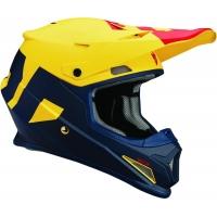 Capacete thor sector level azul/amarelo mate