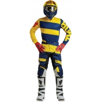 Conj. calÇa/camisola thor pulse level azul/amarelo 2018