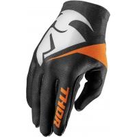 Luvas thor invert preto/laranja