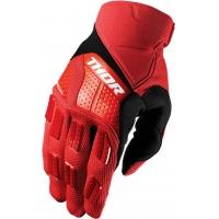 Luvas thor rebound vermelho/preto
