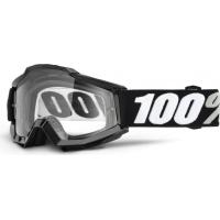 Óculos 100% accuri black tornado lente transparente
