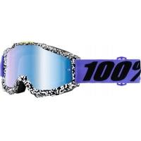 Óculos 100% accuri brentwood lente espelhada azul