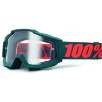 Óculos 100% accuri gunmetal lente transparente