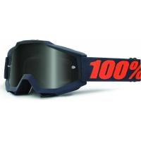 Óculos 100% accuri gunmetal sand lente fumada escura