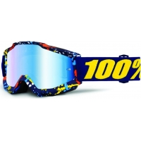 Óculos 100% accuri pollok lente espelhada azul