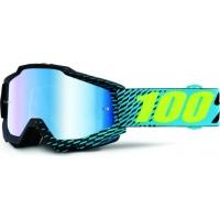 Óculos 100% accuri r-core lente espelhada azul