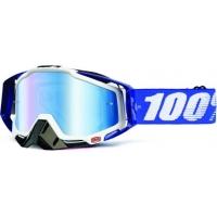 Óculos 100% racecraft cobalt lente espelhada azul