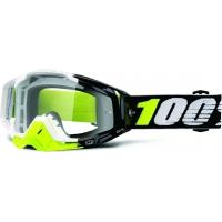 Óculos 100% racecraft emrata lente transparente