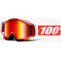 Óculos 100% racecraft fire red 2018