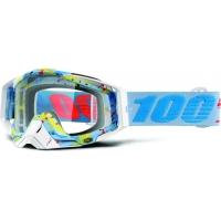 Óculos 100% racecraft hyperloop lente transparente
