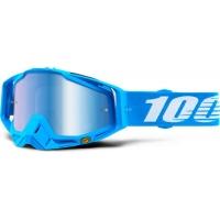 Óculos 100% racecraft monoblock lente espelhada 2018