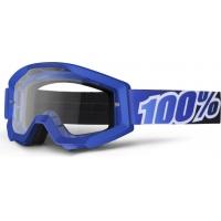 Óculos 100% strata blue lagoon lente transparente