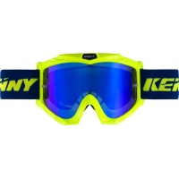 Kenny track + kid amarelo fluor/azul
