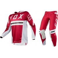 Conj. calÇa/camisola fox flexair preest vermelho 2018