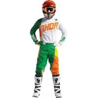 Conj. calÇa/camisola thor pulse air aktiv verde/laranja